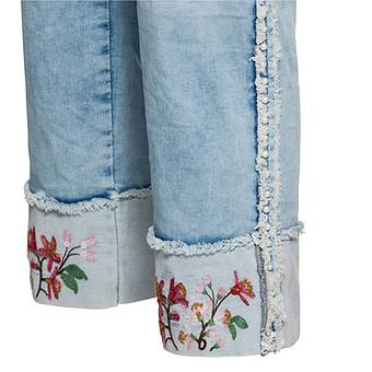 Jeans mit Stitch am Saum 62cm, blue