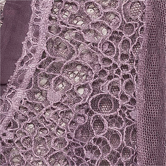 Shirt-Jacke mit Loch-Spitze, provence
