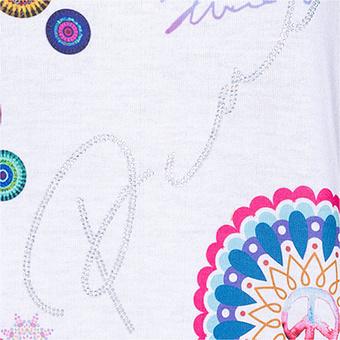 ONLINE EXKLUSIV: Oversize-Shirt, weiß-bunt