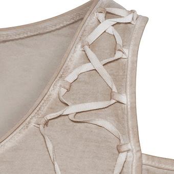 Shirt mit Flügelprint, sand