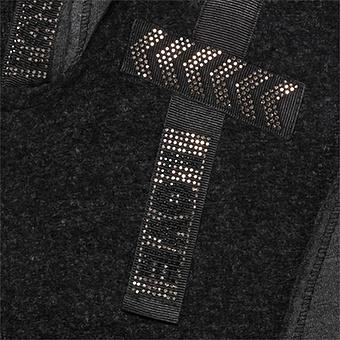Jacke mit Glitzersteinchen, anthra-melange