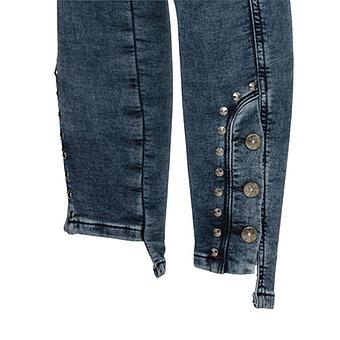 Jeggings mit Knopf-Design 70cm, dark blue