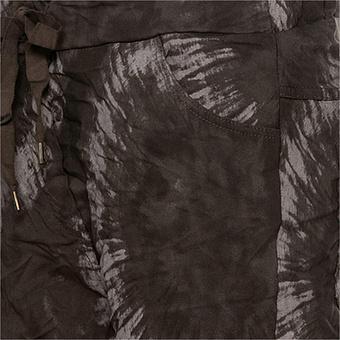 Hose in Batik-Optik, siena