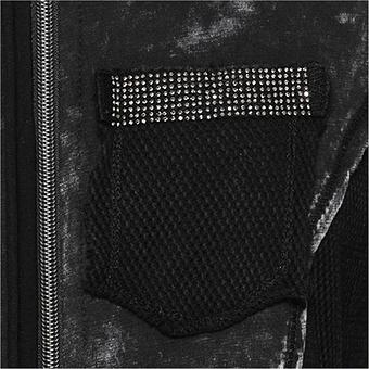 Shirt-Jacke mit Netz, magnet