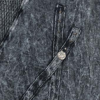 Tunikashirt mit Netz und Steinen, magnet