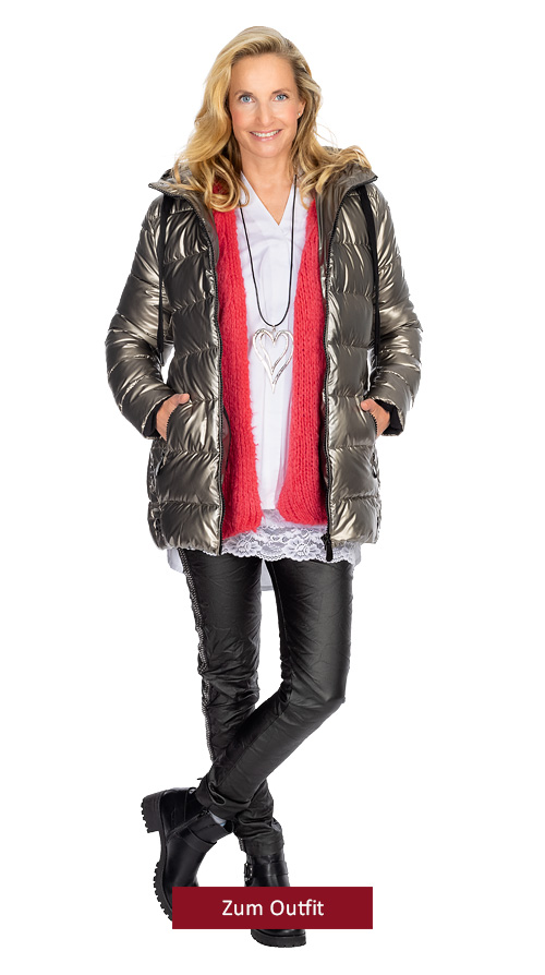 """Outfit """"Metallic Look"""""""