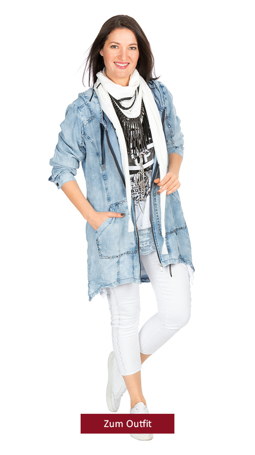 """Outfit """"Denim Spring"""""""