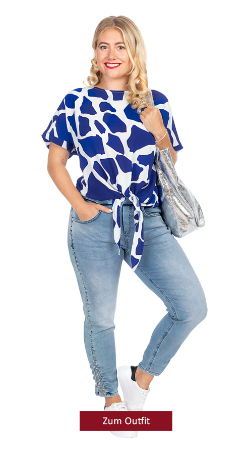 """Outfit """"Cool in blue"""""""
