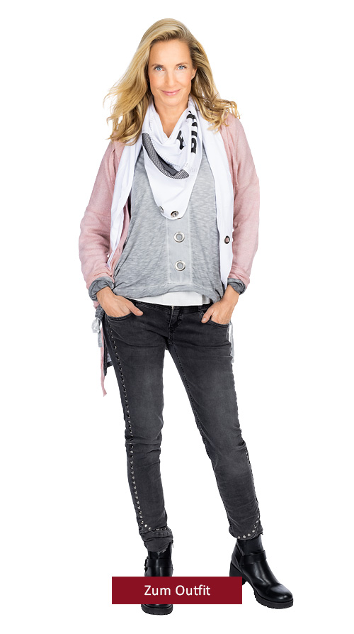 """Outfit """" Romantic Grey Style"""""""