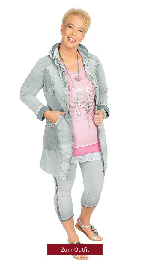 """Outfit """"In Love"""" rosa-grau-150319"""