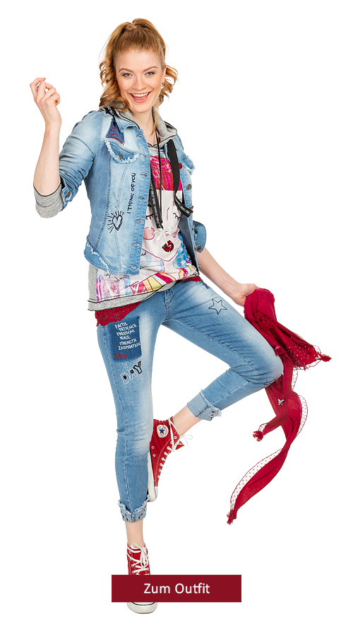 """Outfit """"Trendsetter in Jeans"""""""