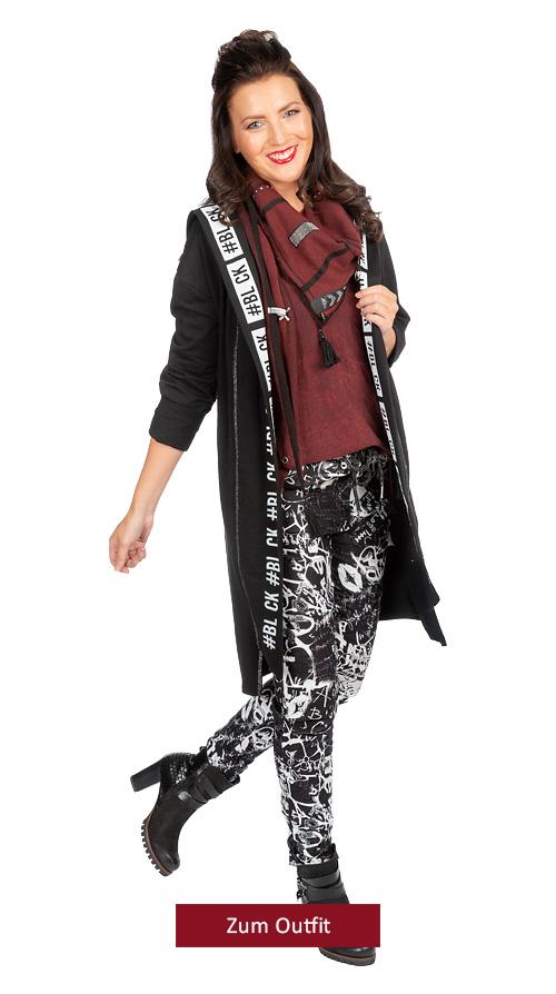 "Outfit ""Black meets Porto"""