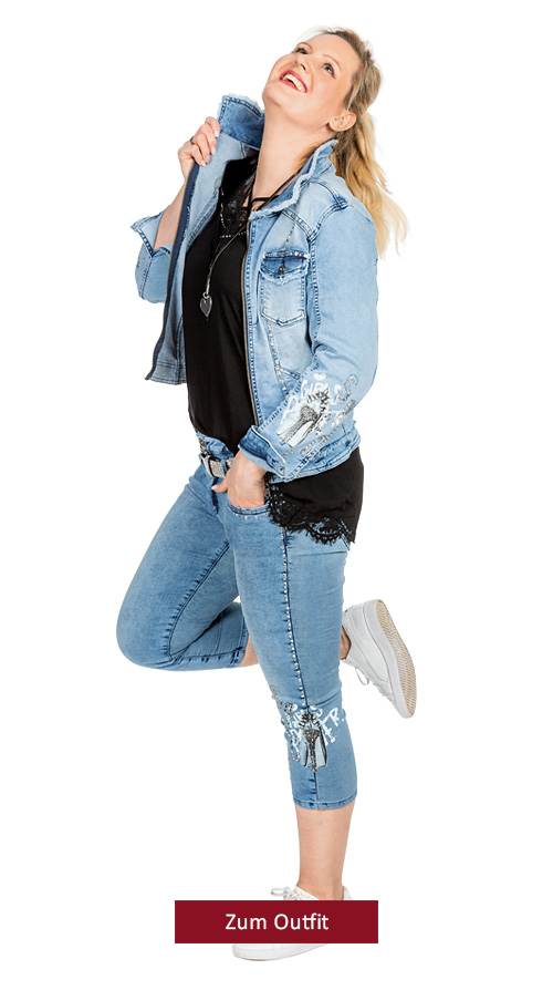 """Outfit """"Denim Love"""""""