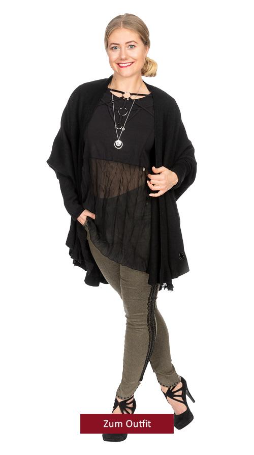 "Outfit ""Elegant in khaki"""