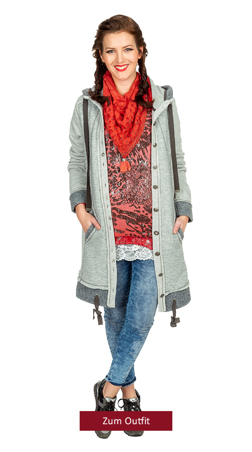 """Outfit """"Casual Red"""" in Lipstick-Denim 12.2018"""