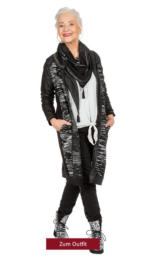 """Outfit Outfit """"Ganz schön schick in schwarz-weiss"""" 11.2019"""